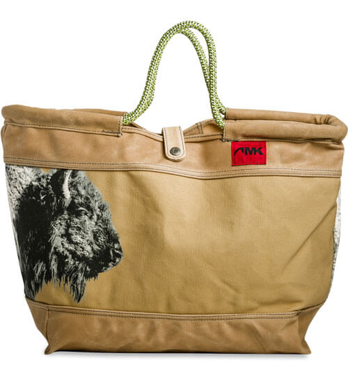 Mountain Khakis Limited Edition Market Tote - Bison Print