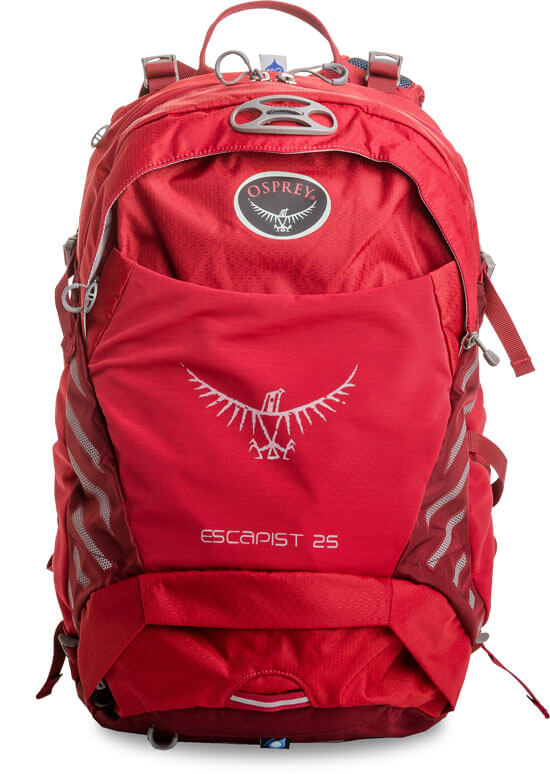 View Backpack Osprey Escapist 25 - S/M - Cayenne Red