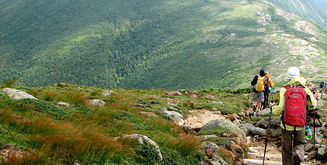 Hiking the White Mountains Trail