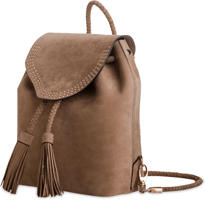 IVY KIRZHNER BACKPACK ORION - TRUFFLE