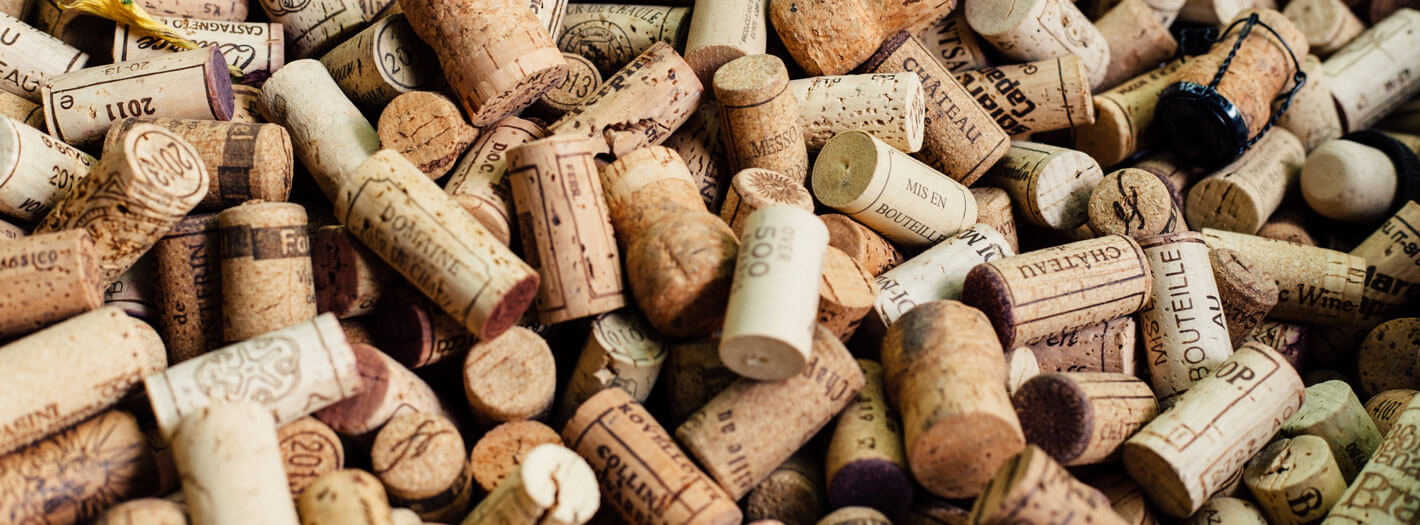 Corks from Santa Barbara Wineries