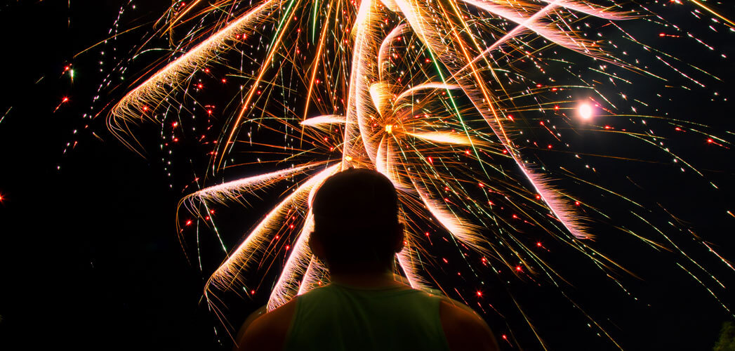 Fireworks over DC