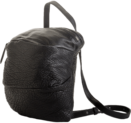 Philo Cocoon Convertible Backpack Purse - Black