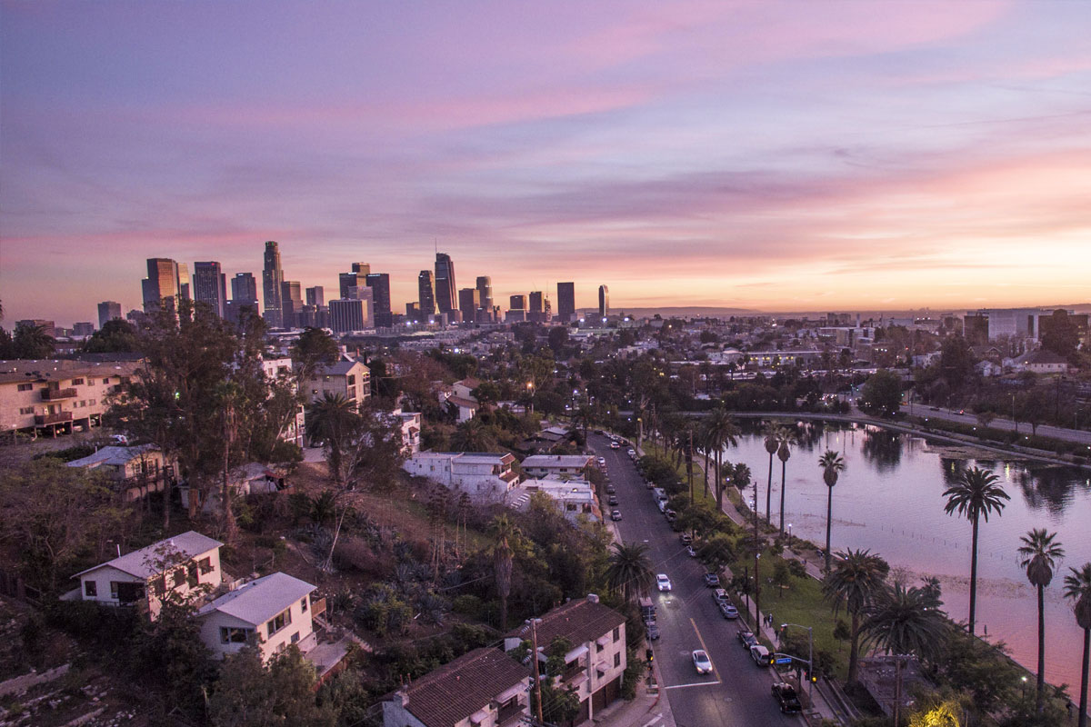 """See & Be Seen in Los Angeles<br><span class=""""title-sm"""">Exploring the Concrete Jungle and Beyond.</span>"""