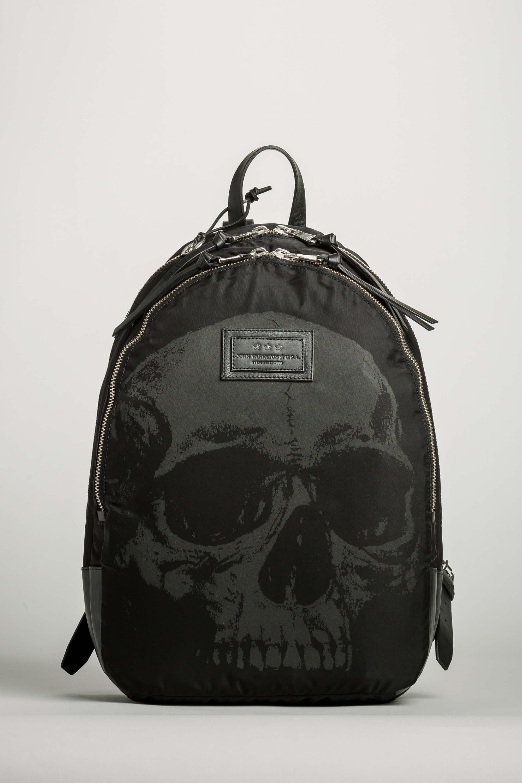 top 10 fashion backpacks john varvatos skull printed backpack