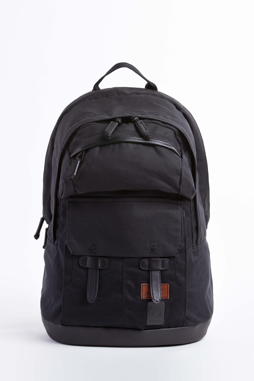 top 10 fashion backpacks nixon west port backpack all black