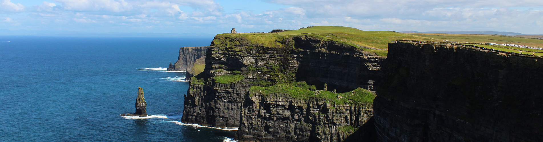 "EXPLORING IRELAND:<br><span class=""title-sm"">THE CLIFFS OF MOHER; COUNTY CLARE</span>"