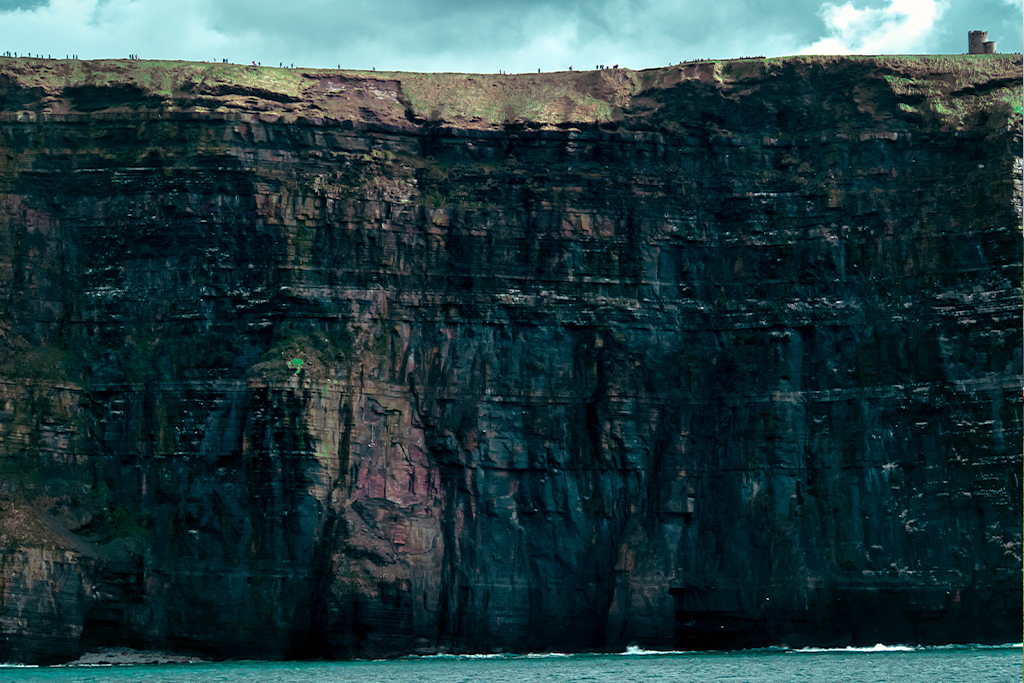 travel to the Cliffs of Moher on an all-day guided bus tour