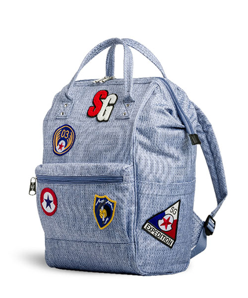 SWISSGEAR 3576 Artz Laptop Backpack With Patches