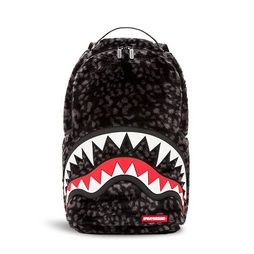 Sprayground Dlx Fur w/Rubber Shark Backpack
