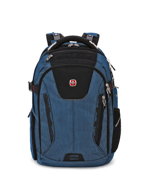 Swissgear 5358 USB ScanSmart Laptop Backpack - Blue/Black