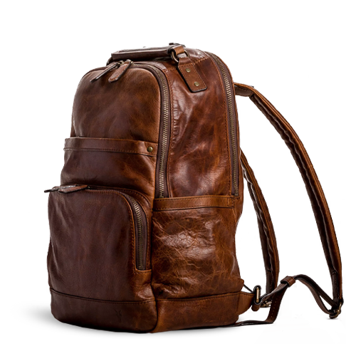Frye Logan Backpack - Cognac